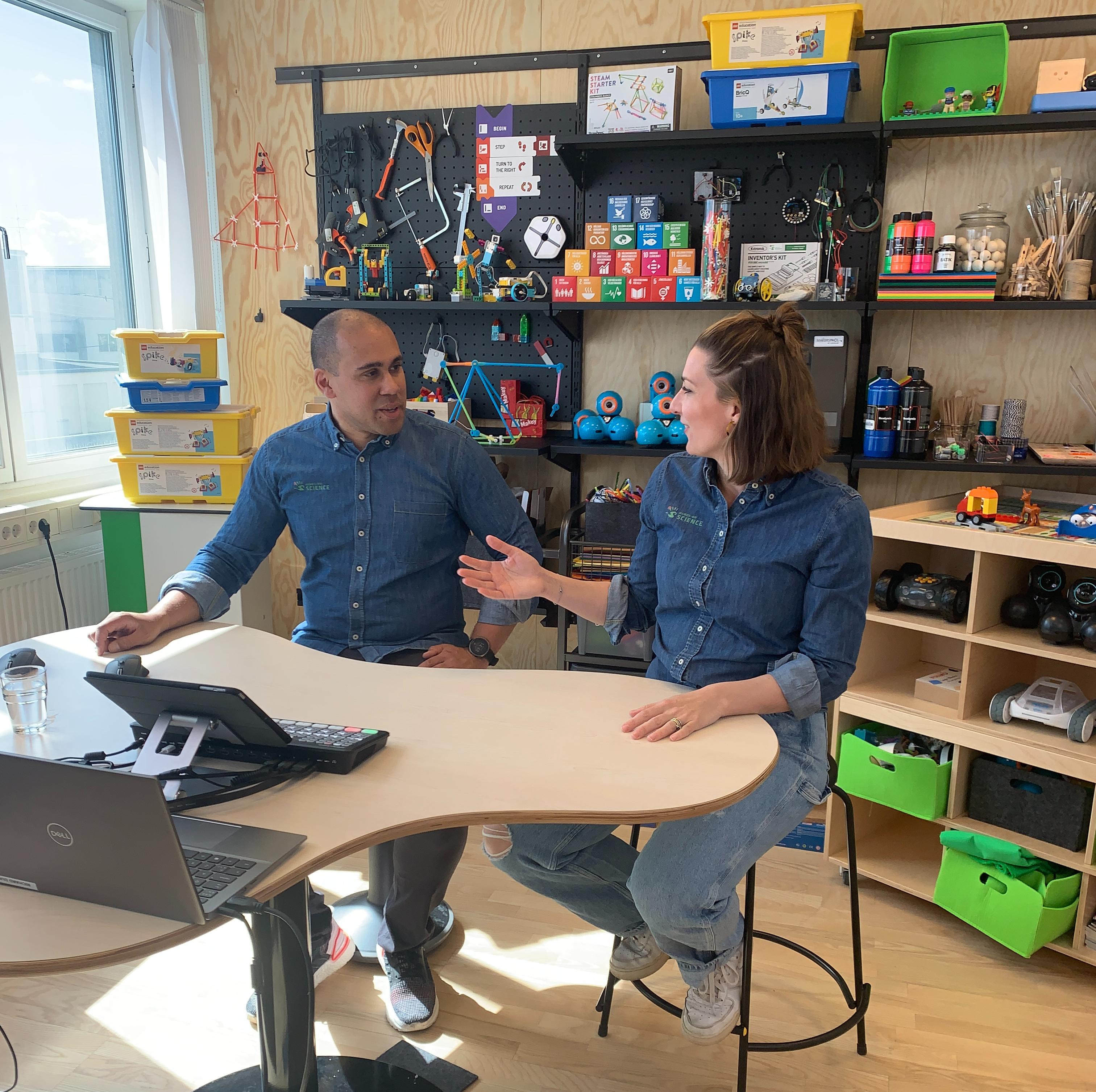 Makerspace pedagoger